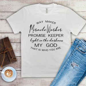 Miracle worker my GOD tee shirt